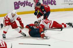 In the end, Jagr, like the Panthers were down and out of the game by the middle of the third period